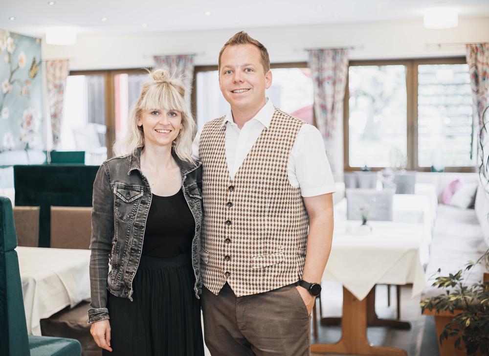 Hotel zur Post Gastgeber Lisa und Paul